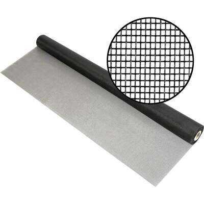 Phifer 30 In. x 100 Ft. Charcoal Fiberglass Mesh Screen Cloth
