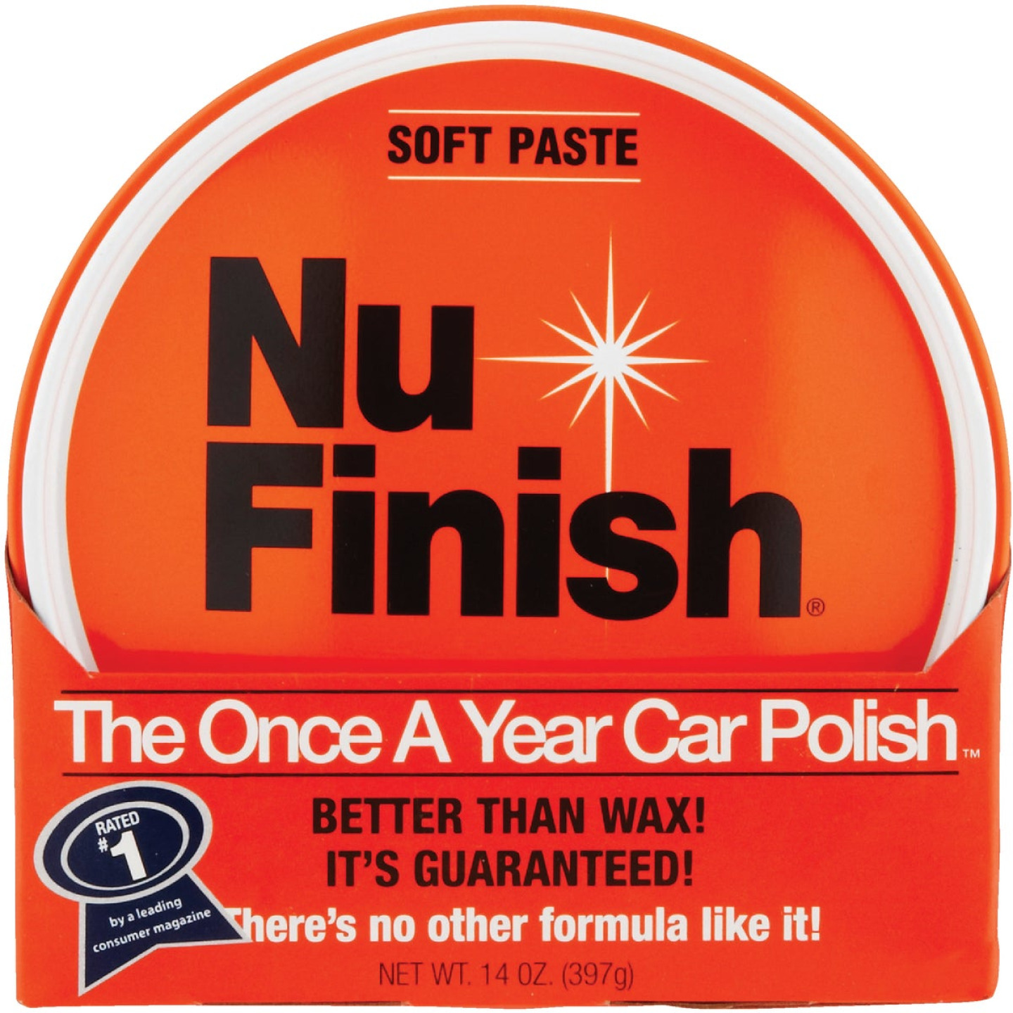 Nu Finish 14 Oz. Paste Car Wax Image 3