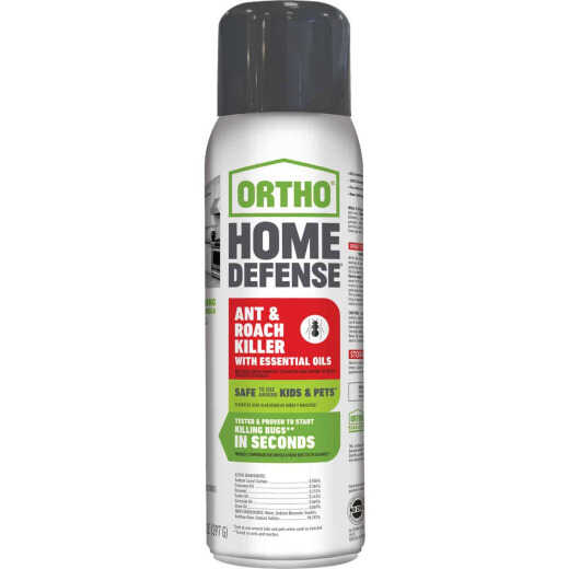 Ortho Home Defense 14 Oz. Aerosol Spray Ant & Roach Killer with Essential Oils