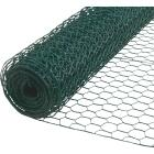 1 In. x 48 In. H. x 25 Ft. L. Green Vinyl-Coated Poultry Netting Image 1
